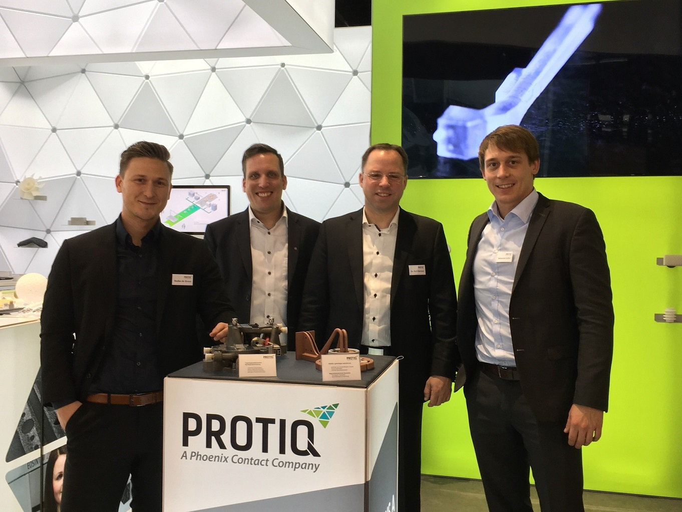 Formnext 2017: PROTIQ stellt den neuen Marketplace vor