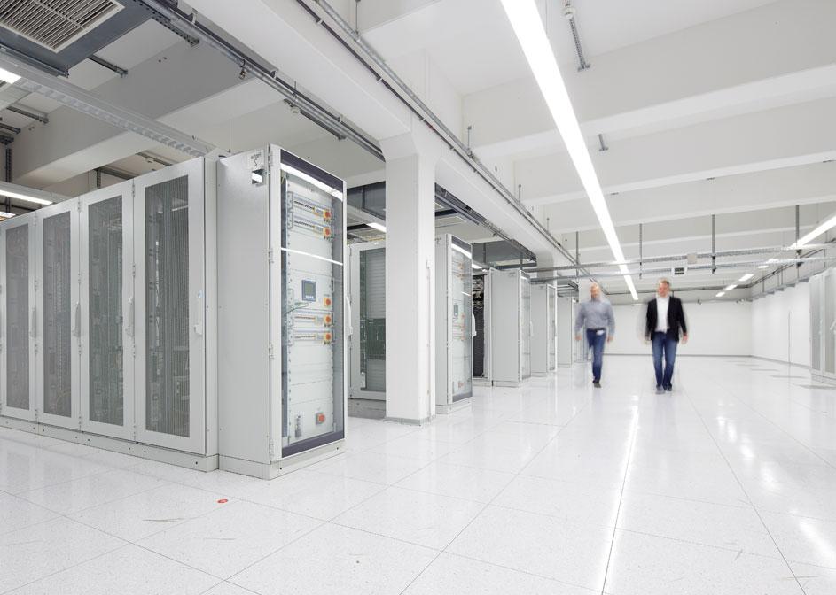 Maximale Datensicherheit durch eigenes Rechenzentrum